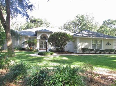 Dunnellon Single Family Home For Sale: 9749 SW 188th Terrace