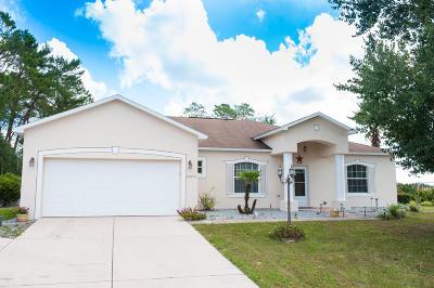 Ocala Single Family Home For Sale: 10973 SW 38th Avenue