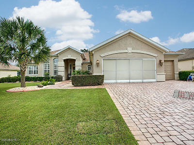 Spruce Creek Gc Single Family Home Pending: 12817 SE 90 Ct Road