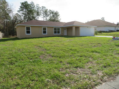 Single Family Home Pending: 41 Water Track Loop