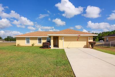 Belleview Single Family Home For Sale: 10105 SE 122nd Street