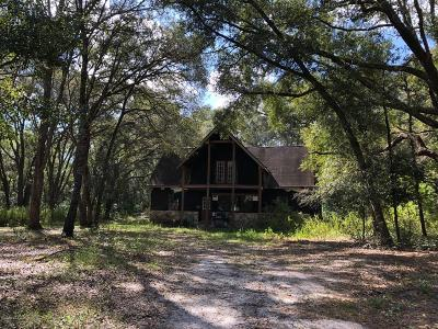 Weirsdale FL Single Family Home For Sale: $115,000