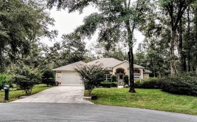 Dunnellon Single Family Home For Sale: 19012 SW 100th Place