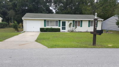 Ocala FL Single Family Home For Sale: $93,000