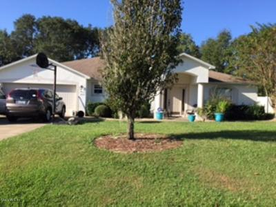 Ocala Single Family Home For Sale: 11554 SW 50th Circle