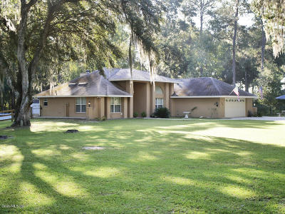 Ocala Single Family Home For Sale: 7415 NW 83rd Court Road