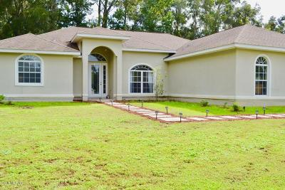 Ocala Single Family Home For Sale: 2587 SE 48th Street