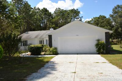 Ocala Single Family Home For Sale: 1900 NW 73rd Terrace