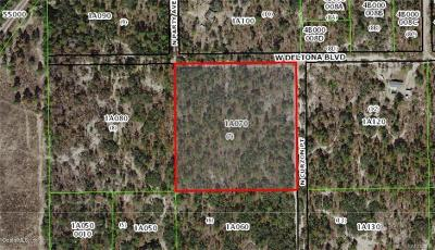 Citrus County Residential Lots & Land For Sale: 10336 N Curzon Point