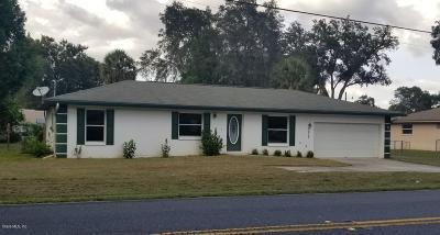 Ocala Single Family Home For Sale: 4629 NE 7th Street