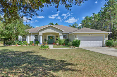 Ocala Single Family Home For Sale: 6491 SW 136th Court Road