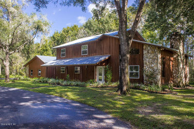 Ocklawaha Single Family Home For Sale: 351 Sequoia Drive