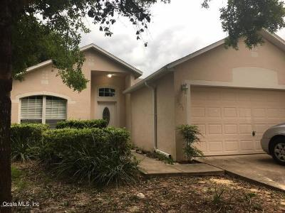 Ocala Single Family Home For Sale: 2621 SW 20th Circle