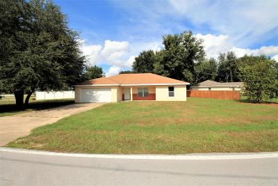 Ocala Single Family Home For Sale: 6736 Cherry Road