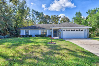 Marion Oaks North, Marion Oaks South, Marion Oaks Rnc Single Family Home For Sale: 4326 SW 140th Street Road