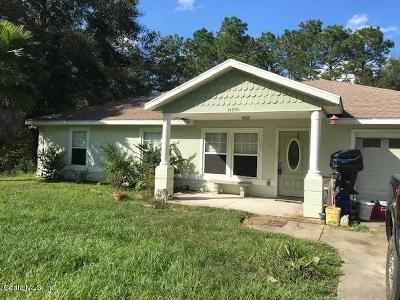 Ocala Single Family Home For Sale: 14299 SW 20th Place