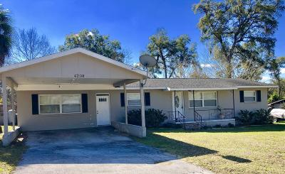 Ocala FL Single Family Home For Sale: $137,900