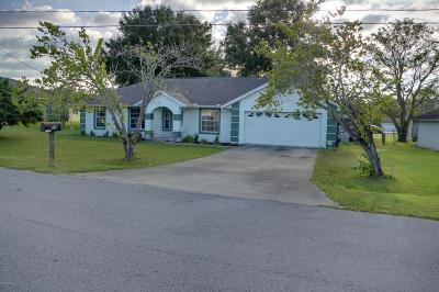 Ocala Single Family Home For Sale: 15 Banyan Course