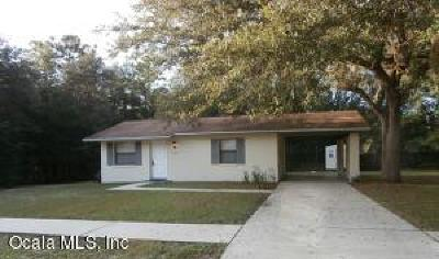 Citrus Springs Single Family Home For Sale: 2265 W Eric Drive