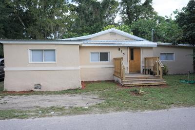 Ocala Single Family Home For Sale: 825 NW 11th Ave