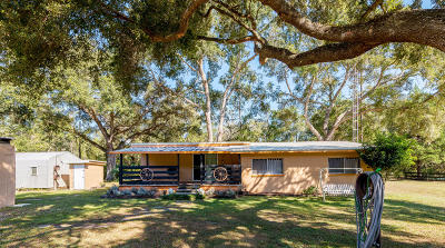 Ocklawaha Single Family Home For Sale: 19160 SE 96th Street