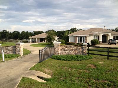 Ocala Farm For Sale: 5474 SW 93rd Lane