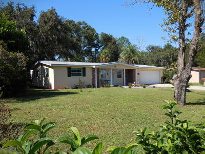 Levy County Single Family Home For Sale: 1370 NE 157th Avenue