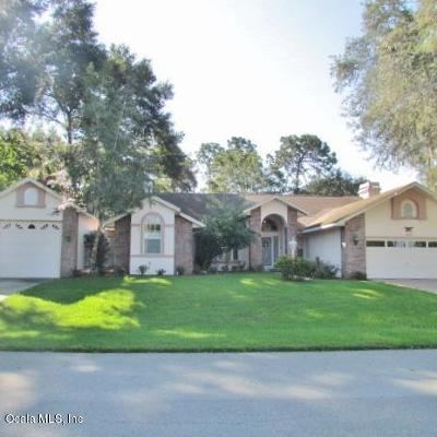 Dunnellon Single Family Home For Sale: 19794 SW 93rd Lane