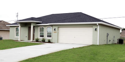 Ocala Single Family Home For Sale: 125 Juniper Loop Circle