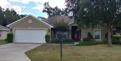 Belleview Single Family Home For Sale: 4028 SE 99th Lane