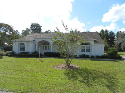 Ocala Single Family Home For Sale: 4966 SW 107th Loop