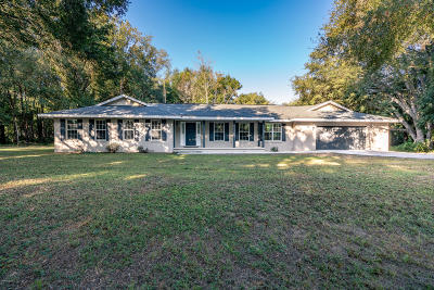 Ocala Single Family Home For Sale: 66 Pine Trace Course