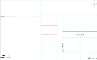 Dunnellon Residential Lots & Land For Sale: Lot 2 SW 177th Court