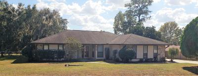 Ocala Single Family Home For Sale: 4542 SW 44th Lane