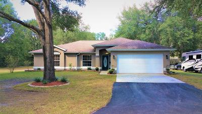 Dunnellon Single Family Home For Sale: 13055 SW Hwy 484