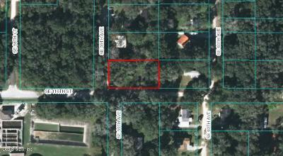Belleview Residential Lots & Land For Sale: 5955 SE 116th Street
