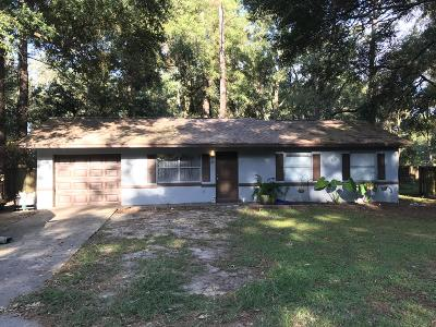 Ocala Single Family Home For Sale: 40 Hemlock Terrace Drive
