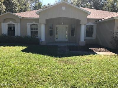 Dunnellon Rental For Rent: 1752 W Lorraine Drive