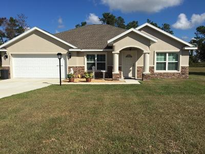 Ocala Single Family Home For Sale: 4267 SW 102nd Place