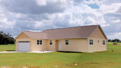 Dunnellon Single Family Home For Sale: 21980 SW 3rd Lane