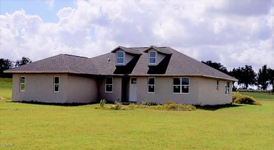 Dunnellon Single Family Home For Sale: 21990 SW 6th Lane