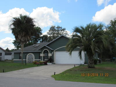 Ocala Single Family Home For Sale: 14060 SW 32nd Terrace Road