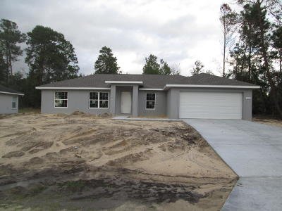 Marion County Single Family Home For Sale: 5093 SW 129th Place