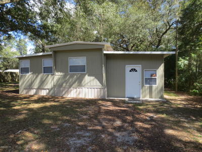 Silver Springs Mobile/Manufactured For Sale: 2041 SE 172nd Ave