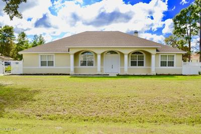 Ocala Waterway Single Family Home For Sale: 4822 SW 112th Street