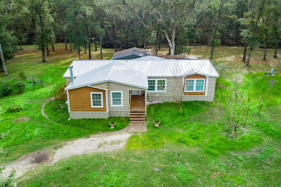 Levy County Single Family Home For Sale: 16790 SE 7th Lane