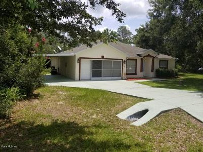 Ocala Waterway Single Family Home For Sale: 10889 SW 45th Terrace