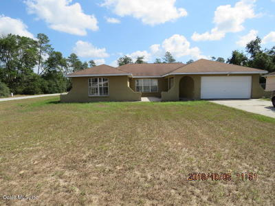 Ocala Single Family Home For Sale: 15579 SW 23rd Ave Road