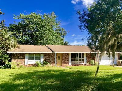 Ocala Single Family Home For Sale: 3521 SW 25th Street