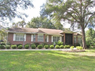 Marion County Single Family Home For Sale: 8700 SW 206th Court